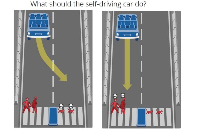 Photo: Self-driving-car-choice