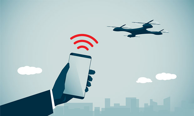 cell-phones-tracking-drones