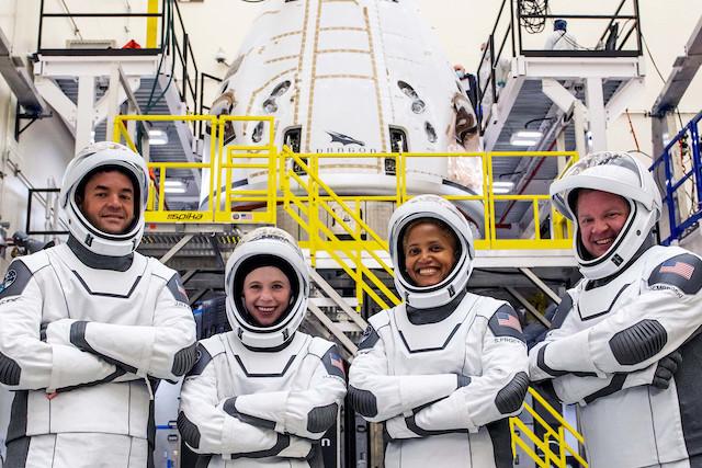 SpaceX Insp4 Civilians